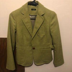 Vintage J Crew Scottish 🏴 Wool Blazer